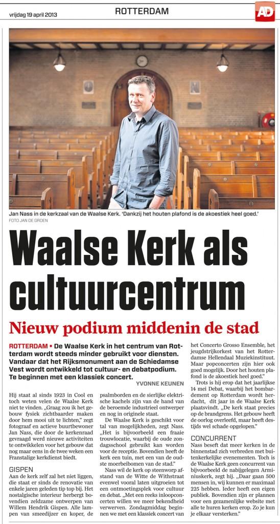Artikel AD Rotterdam